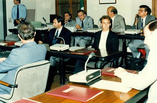 fulvio vailati e riccardo trapella - consiglio comunale 1988