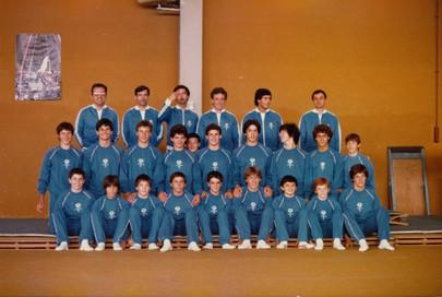 fulvio vailati e riccardo trapella - collegiale nazionale giovanile - varese 1980