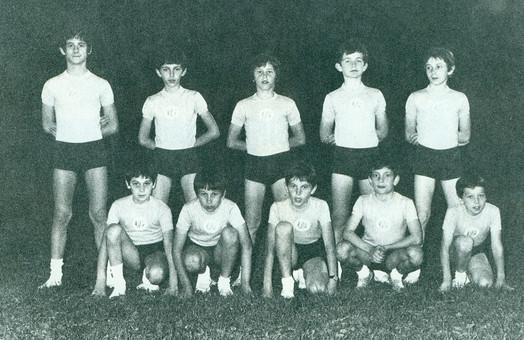 squadra allievi 1974