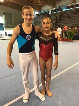 leone airaghi e diana barbanotti - criterium 2018
