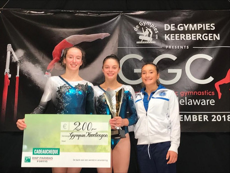 juventus nova melzo - podio gymnovacup 2018
