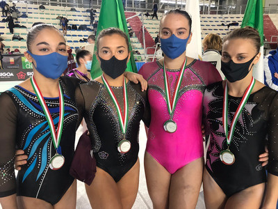 barbanotti, bellan, canali e vergani - campionato nazionale gold di specialità j/s 2020 - napoli