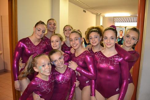 squadra agonistica femminile - saggio 2013