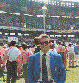 riccardo trapella - giochi olimpici seoul 1988