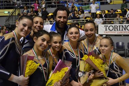squadra femminile juventus nova melzo serie a2 2014 - torino