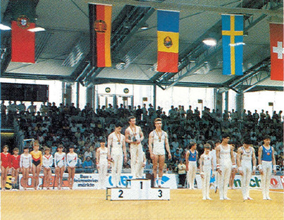 riccardo trapella - campionati d'europa juniores 1987