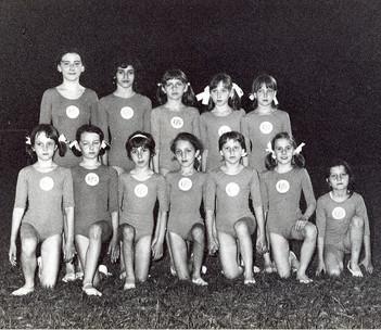 squadra femminile 1971
