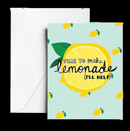 Sympathy Lemonade Note Card