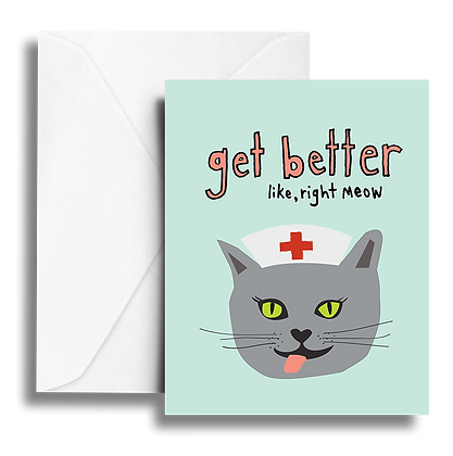 Get Better Note Card