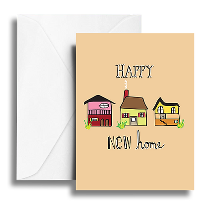 Happy New Home Note Card