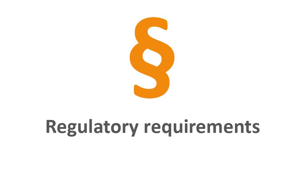 Regulatory requirements orange