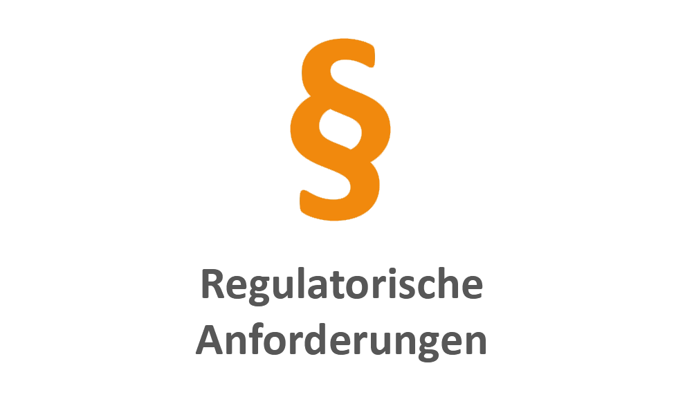 Regulatorische Anforderungen orange