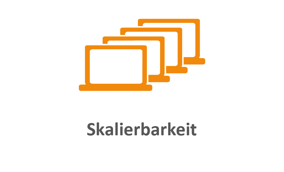 Skalierbarkeit orange