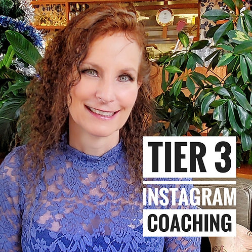 Tier 3 - Instagram coaching!