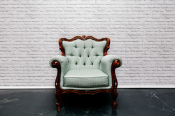 Pale Green Armchair