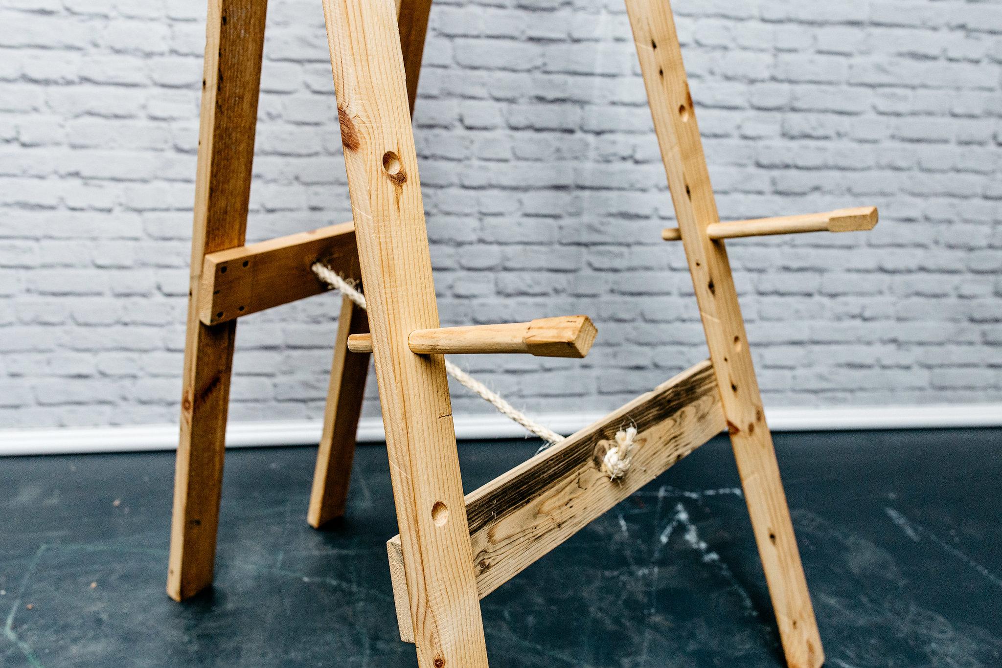 Reclaimed Wood Easel
