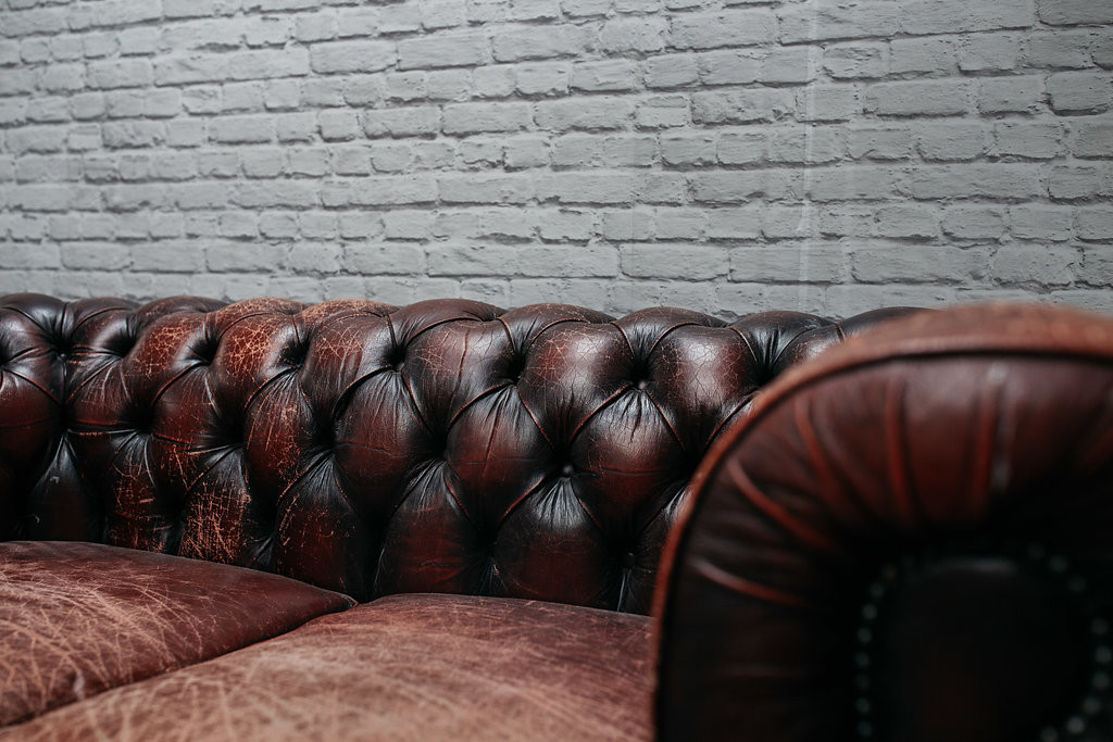 Oxblood Red Chesterfield Sofa