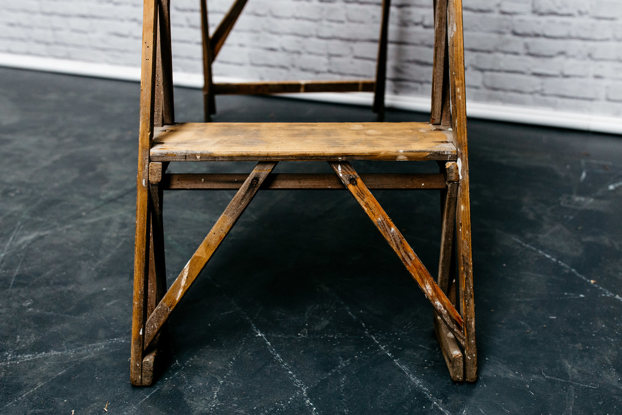 Vintage Step Ladder #1