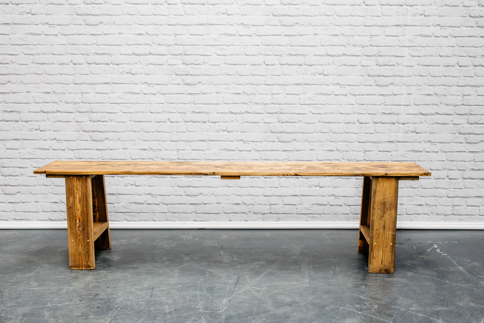 6ft Reclaimed Wood Bench