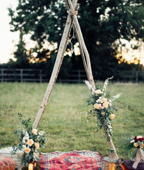 Tipi Ceremony Arch