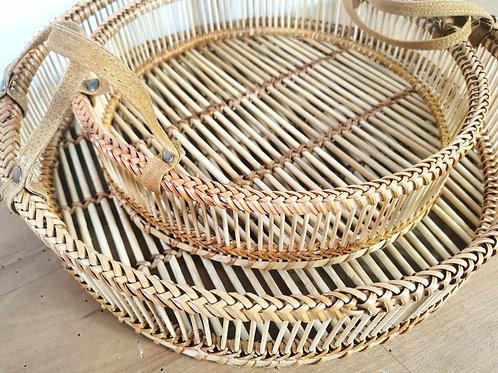 Natural Bamboo Tray / Serving Tray