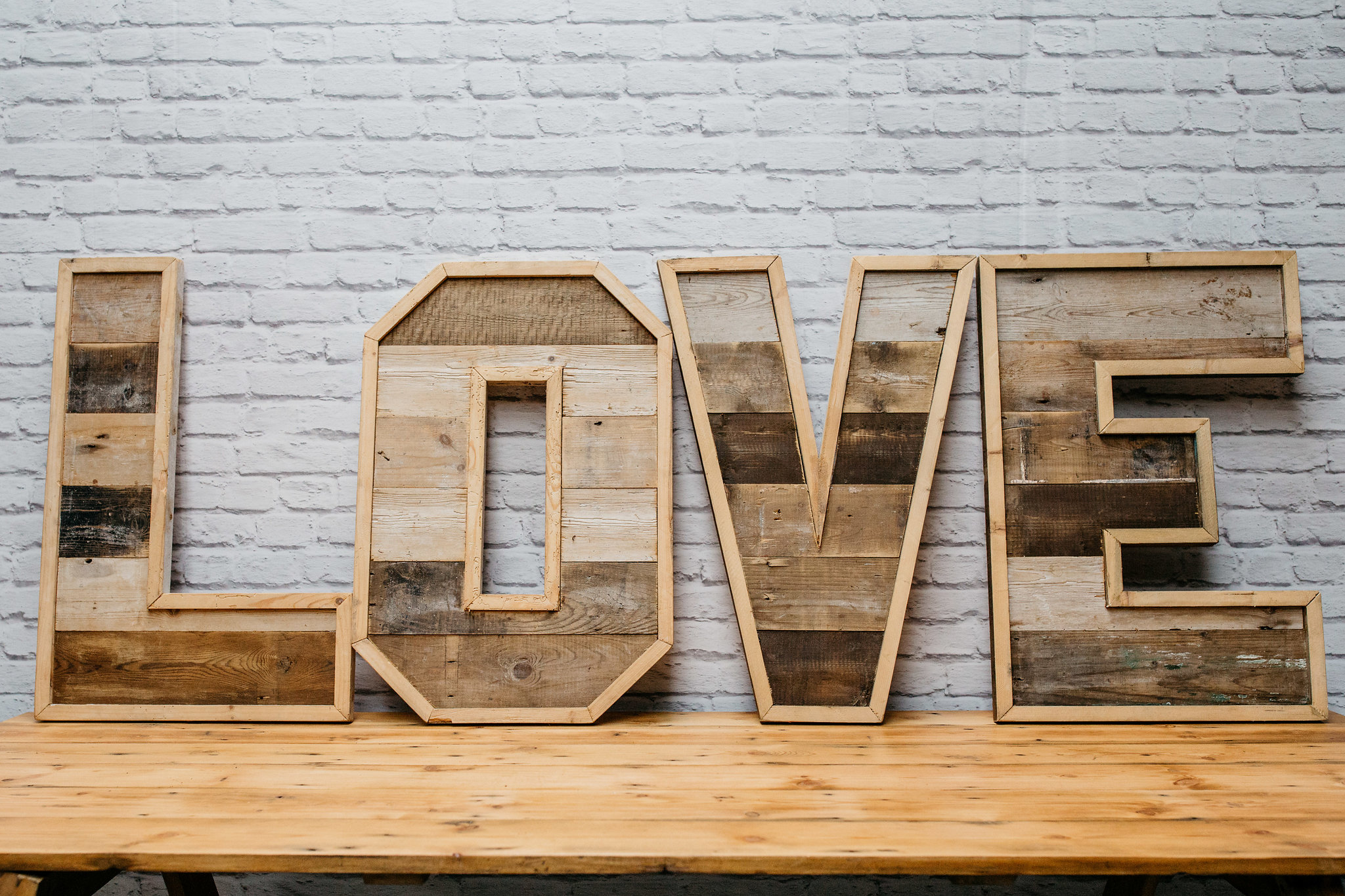 Reclaimed Wood 'LOVE'