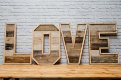 Reclaimed Wood 'LOVE'