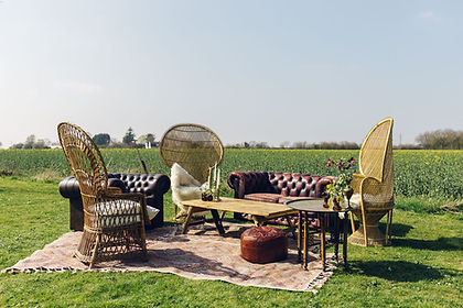 Large Boho Chesterfield Seating Package