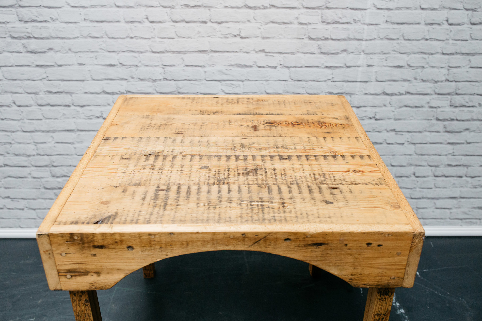 Reclaimed Wood Restaurant Table