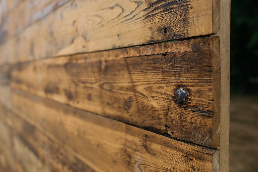 Reclaimed Wood Screen