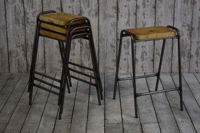 Metal Framed Stool