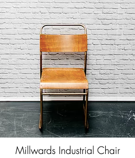 Metal Framed Chair