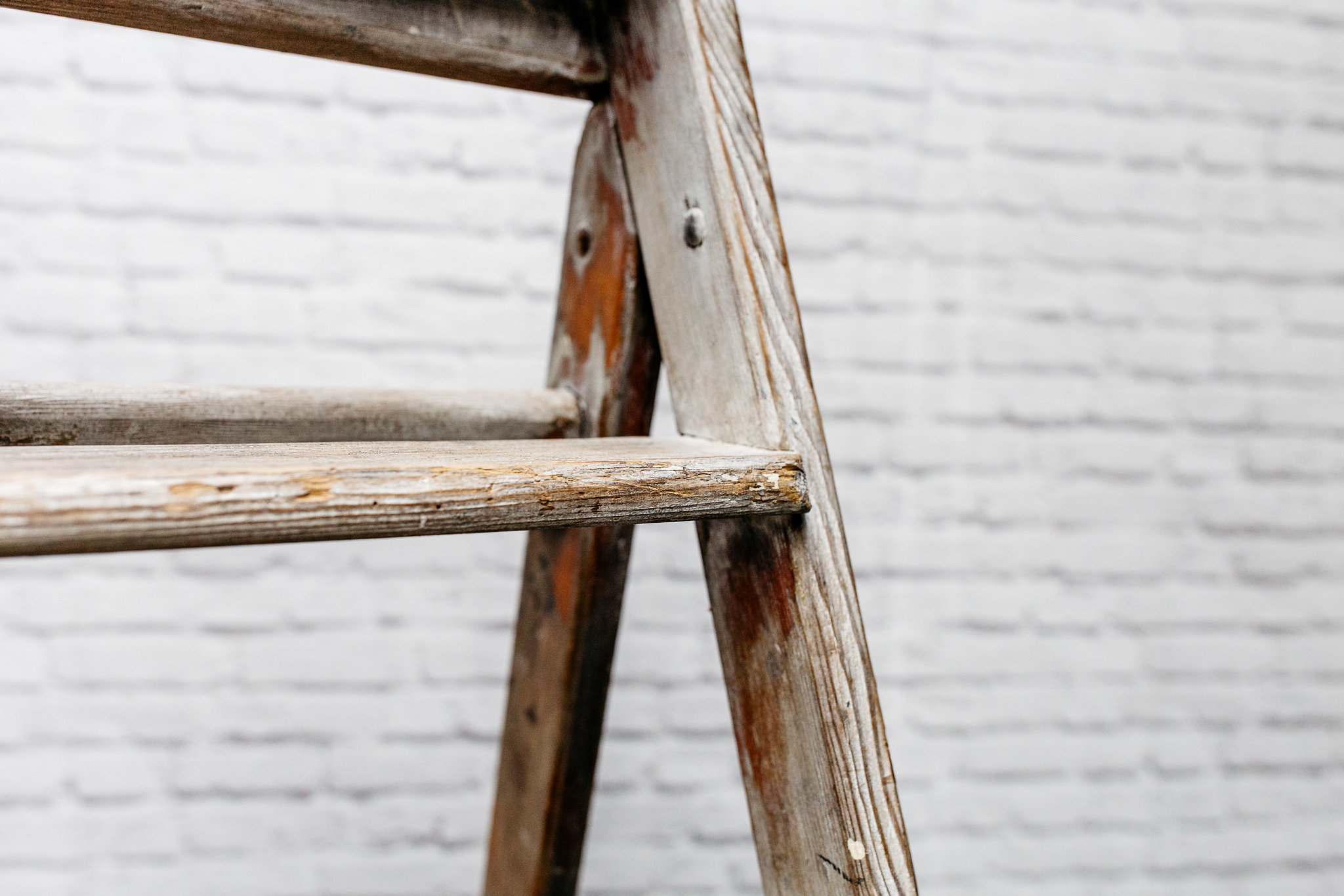 Vintage Step Ladder #3
