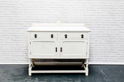Large White Dresser