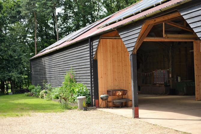 Captain's Wood Barn