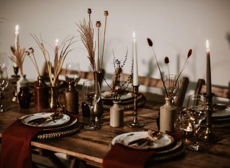 Autumn & Winter Wedding Inspiration