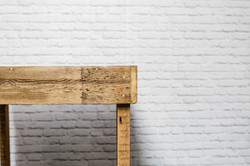 Reclaimed Wood Restaurant Table