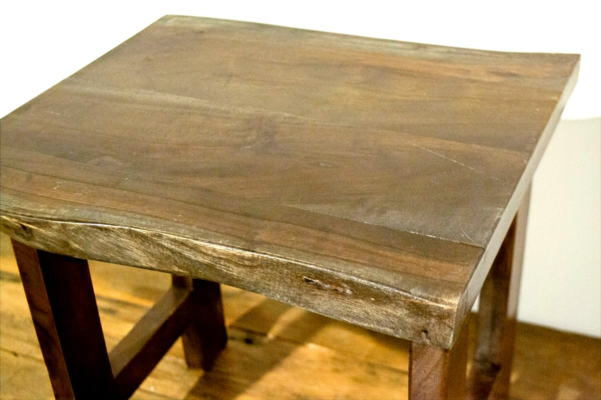 Dark Wood Wide Table