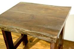 Dark Wood Wide Table