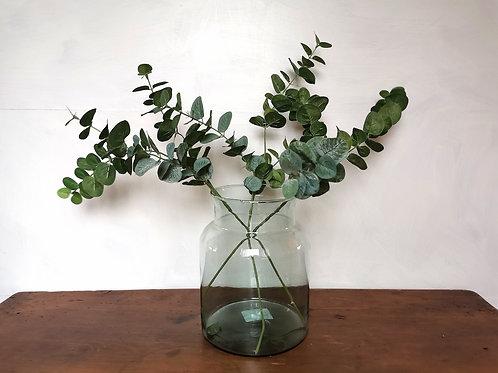 Medium Shouldered Recycled Glass Vase