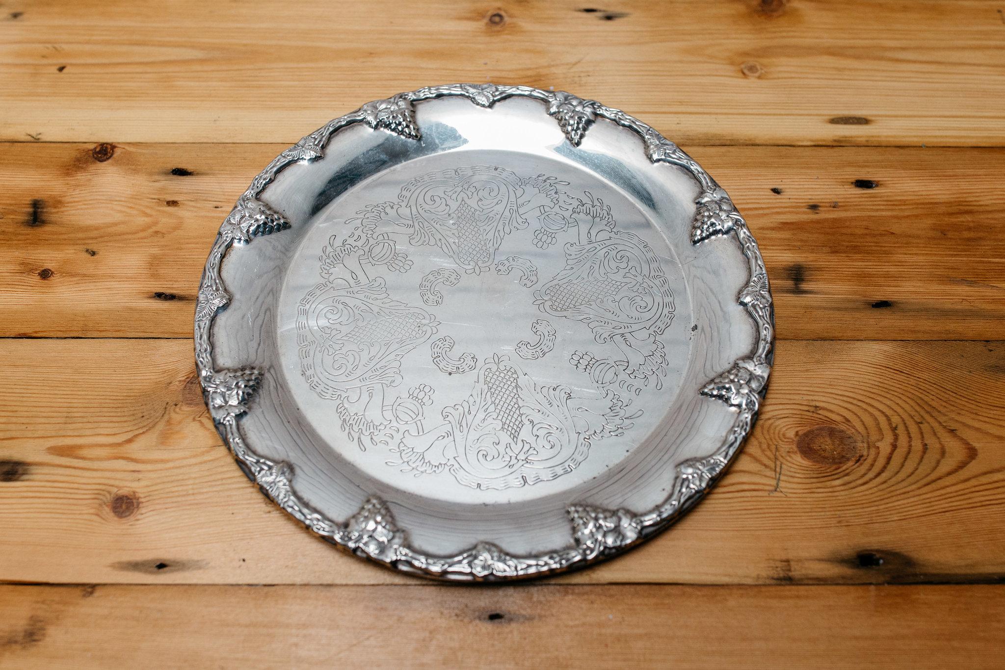 Silver Tray #3