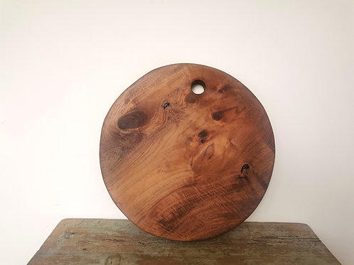 Round Handmade Charcuterie Board