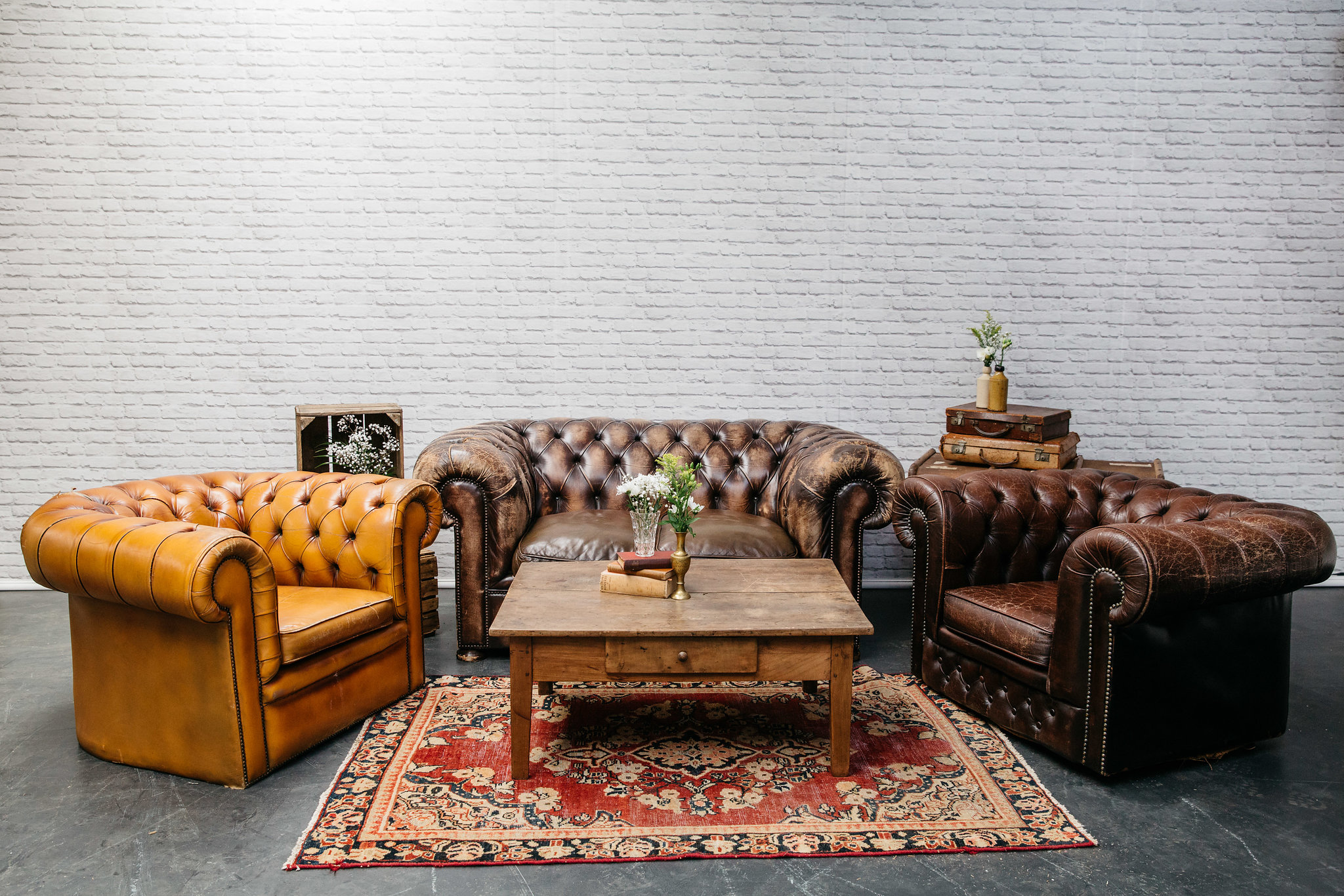 Chesterfield Seating Area