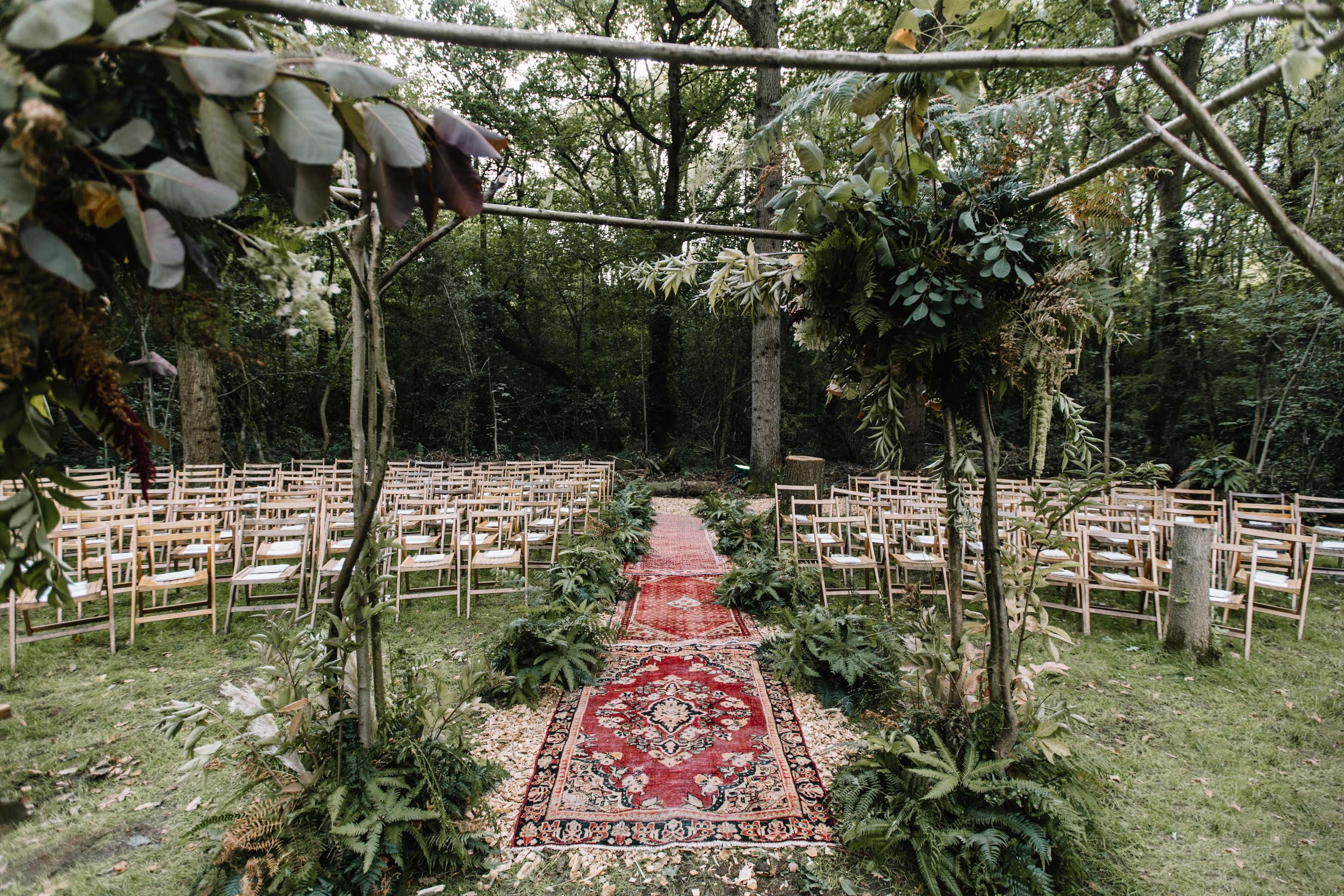 Outdoor ceremony hd