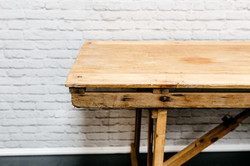 8ft Vintage Trestle Table
