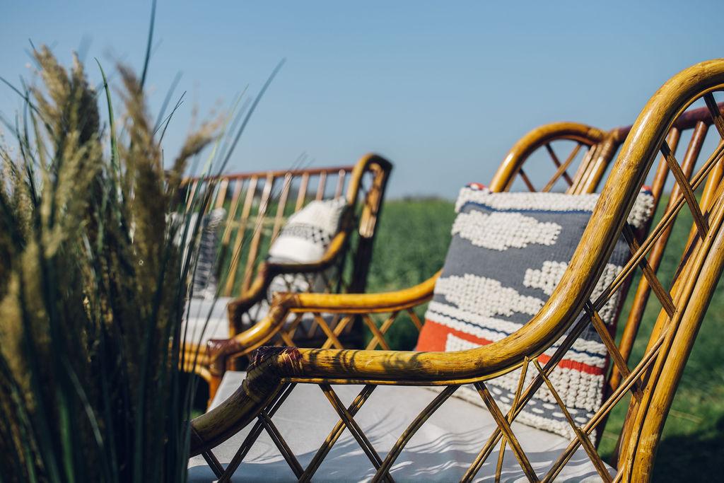 Bamboo Seating Area