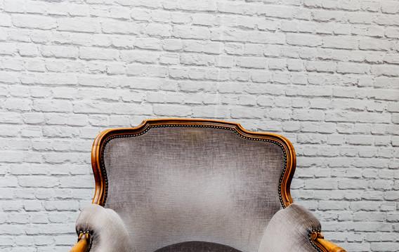 Vintage 'Grey' Armchair