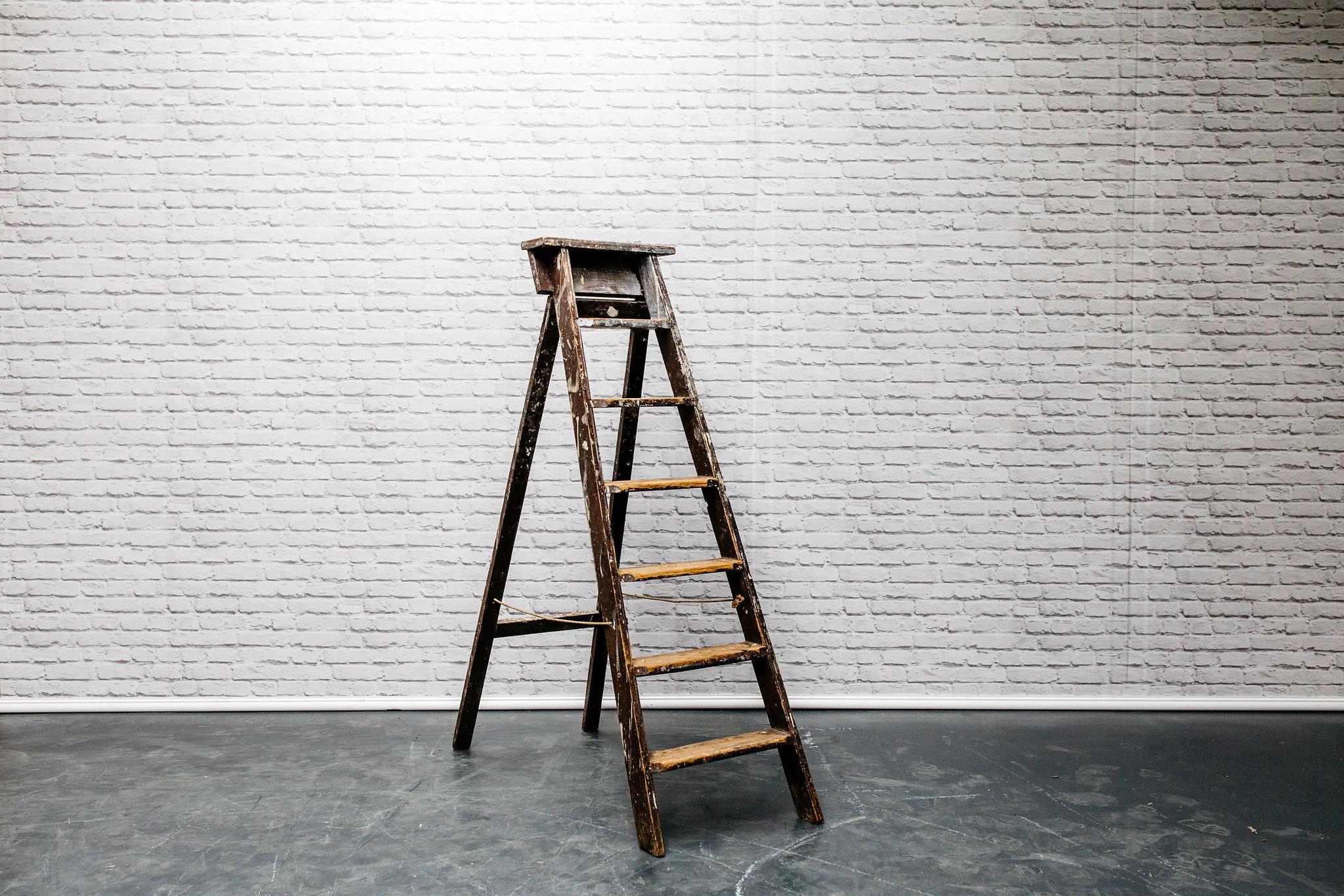 Vintage Step Ladder #4