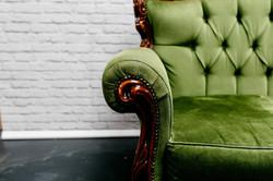 Dark Green Sofa