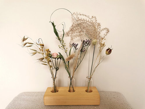 Reclaimed Wood Bud Vase